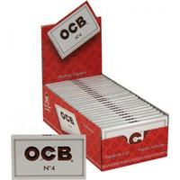 Бумага сигаретная ОСВ Дабл Вайт №4 (100листов) 1х1пач