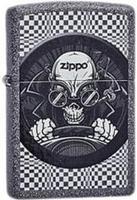 """Зажигалка """"Зиппо"""" 211 /Zippo Skull Racer/ 1х1шт"""