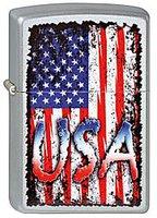 "Зажигалка ""Зиппо"" 205 /USA Flag/ USA"