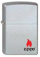 """Зажигалка """"Зиппо"""" 205 /Zippo Logo/ (220.133) 1х1шт"""