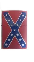 "Зажигалка ""Зиппо"" 233 /Confederate Flag/"
