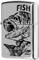 """Зажигалка """"Зиппо"""" 250 /Fish-Big Mouth/"""