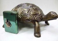 "Зажигалка ""Зиппо"" Limited Edition 251.702 397/500/Turtle/в пепельнице."