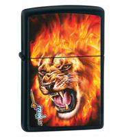 "Зажигалка ""Зиппо"" 28 003 /Mazzi-Flame Lion/"