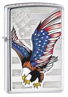"Зажигалка ""Зиппо"" 28 449 /Eagle Flag/"
