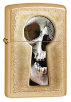 "Зажигалка ""Зиппо"" 28 540 /Keyhole Skull/"