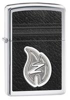"Зажигалка ""Зиппо"" 28 800 /Z Leather Stiiching/ USA"