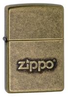 """Зажигалка """"Зиппо"""" 28 994 /Zippo Stamp Anti Brass/"""