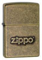 "Зажигалка ""Зиппо"" 28 994 /Zippo Stamp Anti Brass/ 1х1шт."