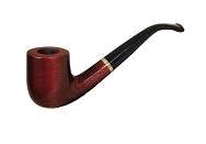 "Трубка курительная ""Mr.Brog""  №38 Олд Бой Голд (3mm)"