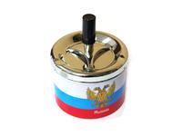 Бездымная Пепельница Россия 13*9,5см